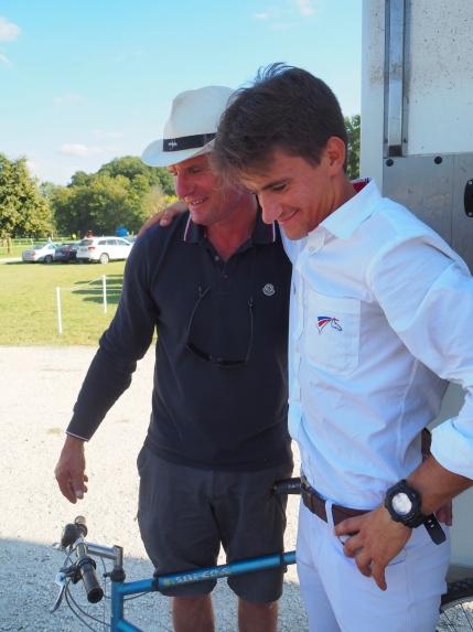 Thibault et Fabrice Champel